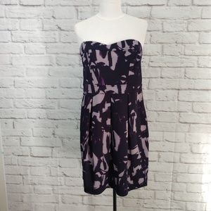 Lush strapless dress L